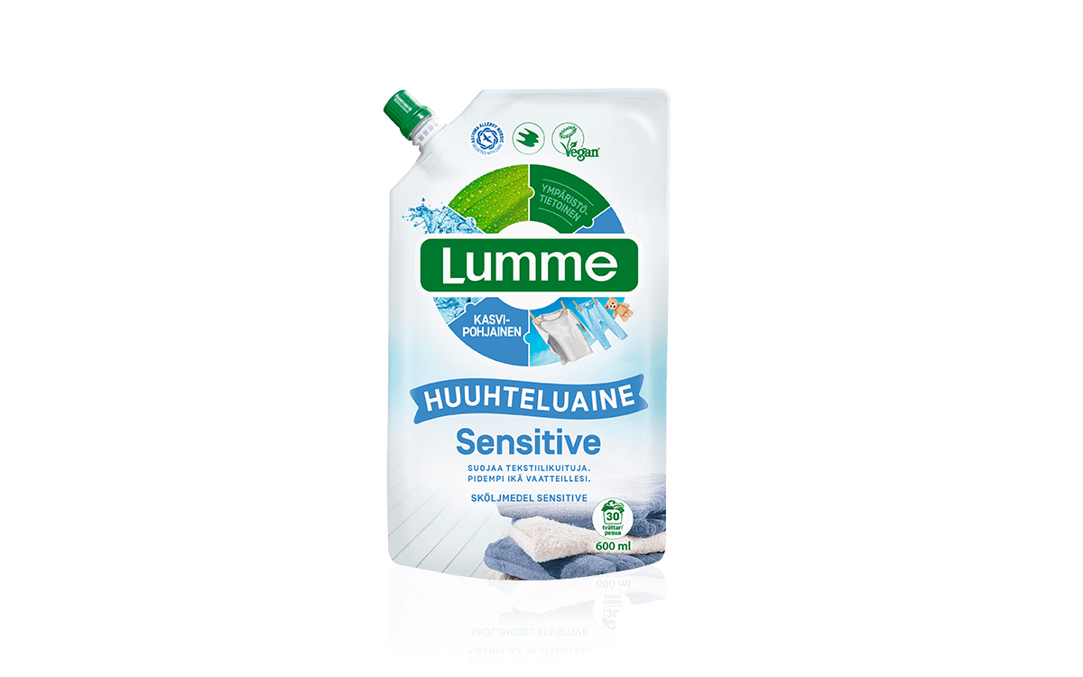 Lumme sensitive huuhtelu